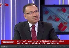 Adalet Bakanı Bozdağ'dan 'Adil öksüz' açıklaması
