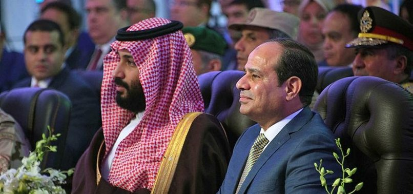 GULF LEADERS LOOK TO US TO RESOLVE INTER-ARAB DISPUTE