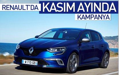 Renault'da Kasım ayında kampanya