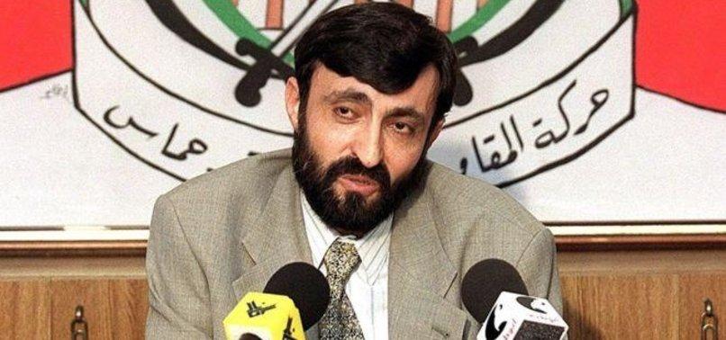 INJURED HAMAS LEADER DIES IN GAZA