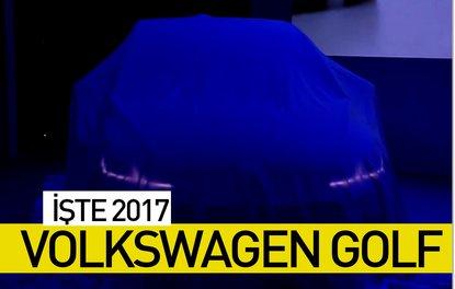 İşte 2017 Volkswagen Golf fotoğrafları