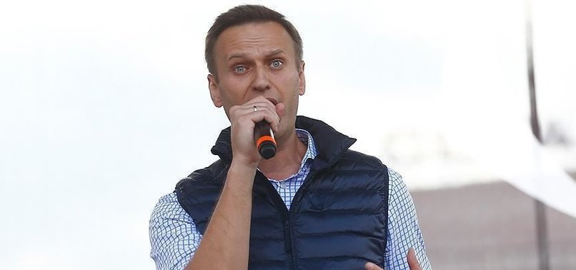 UKRAINE SUPPORTS RUSSIAN OPPOSITION LEADER NAVALNY