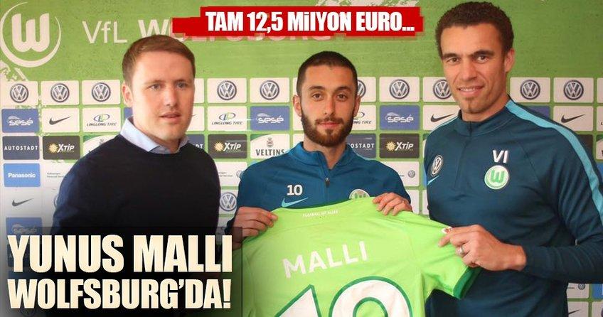 Yunus Mallı Wolfsburga transfer oldu