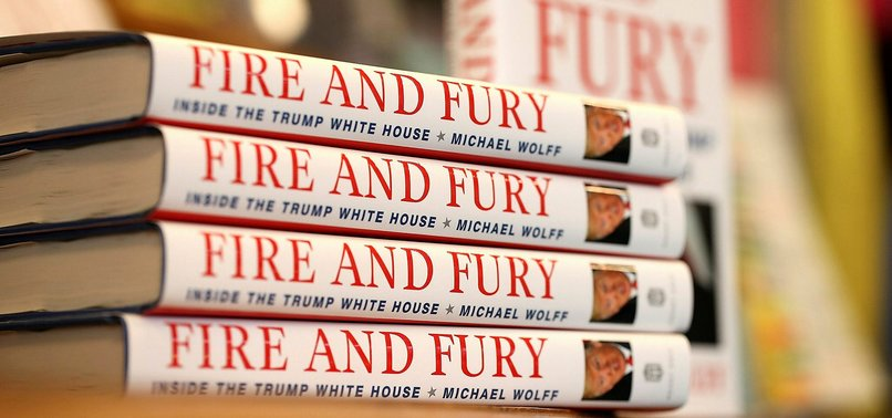 TRUMP BOOK AUTHOR SAYS HIS REVELATIONS WILL BRING DOWN U.S. PRESIDENT