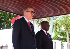 Cumhurbaşkanı Erdoğan ve Tanzanya Cumhurbaşkanı Magufuli ile ortak basın toplantısı düzenledi