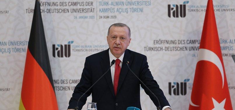 TURKISH-GERMAN UNIVERSITY SYMBOL OF FRIENDSHIP: ERDOĞAN