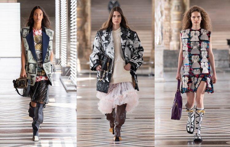 Louis Vuitton Sonbahar/Kış 2021 için Fornasetti ile Çalıştı