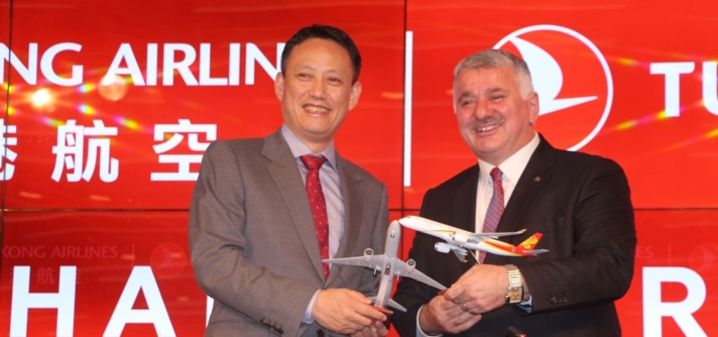 TURKISH AIRLINES INKS CODE-SHARE DEAL WITH HONG KONG AIRLINES