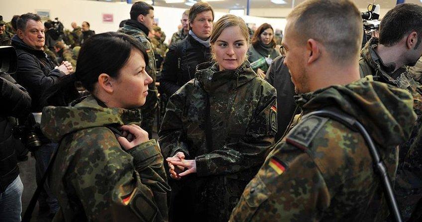 Alman ordusuna AB'den asker alma planı