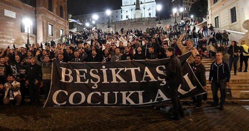 Napoli-Beşiktaş maçı öncesi çirkin saldırı