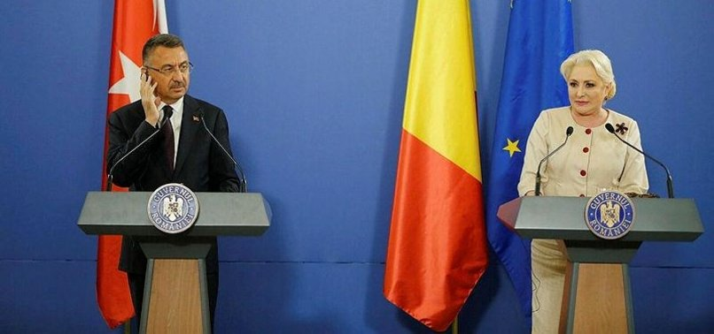 TURKEY WELCOMES ROMANIA'S POSITION ON ITS EU TIES