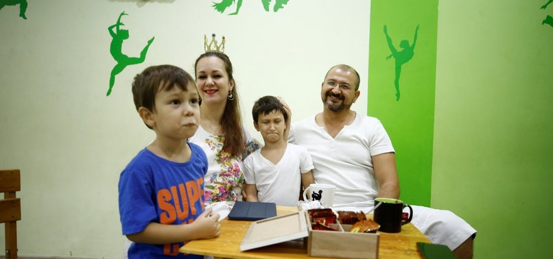 TURKISH-UKRAINIAN COUPLE PROVES LANGUAGE IS NO BARRIER