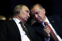 President Recep Tayyip Erdoğan and his Russian counterpart Vladimir Putin on yesterday discussed the ongoing Astana peace process between the moderate opposition and Bashar Assad's regime as well...