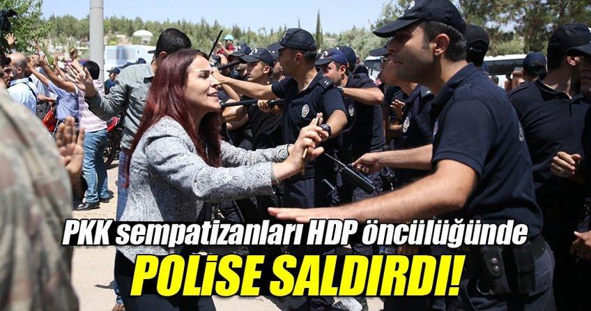 Gaziantep'te HDP provokasyonu