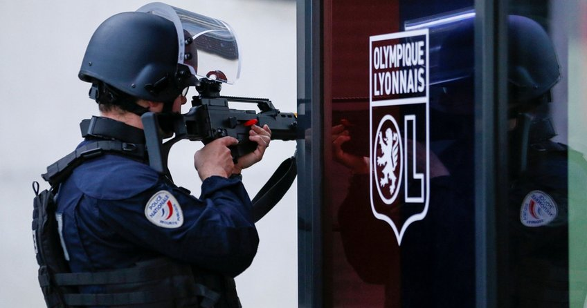 Fransız polisi Beşiktaş maçı öncesi güvenliği abarttı