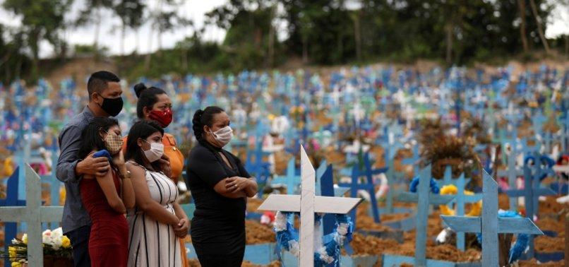 BRAZIL DAILY VIRUS DEATHS AGAIN TOP 1,000