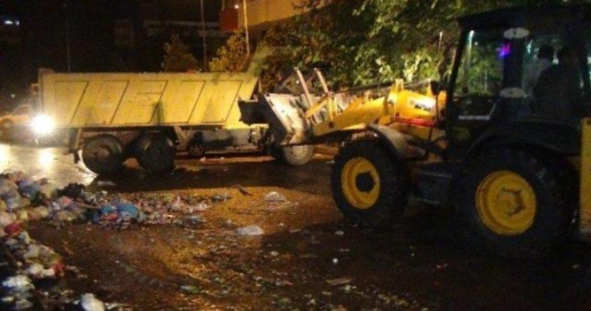 Diyarbakır'da çöpler toplanmaya başladı!