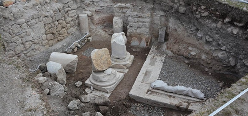 ONE OF THE OLDEST CHURCHES IN ANATOLIA FOUND IN NORTHERN TURKEY