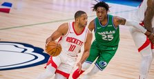 Rockets' high-powered offense dispatches Mavericks