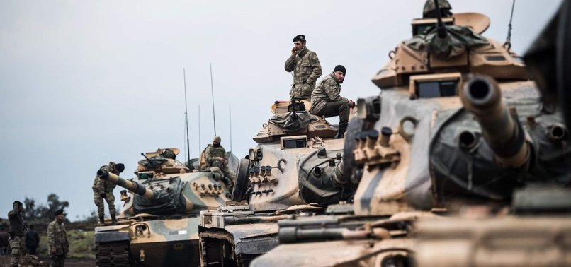 30-KM DEEP ZONE TO BE CLEARED OF YPG IN FIRST PHASE OF AFRIN OFFENSIVE