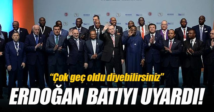 Erdoğan'dan Afrika ülkelerine FETÖ uyarısı