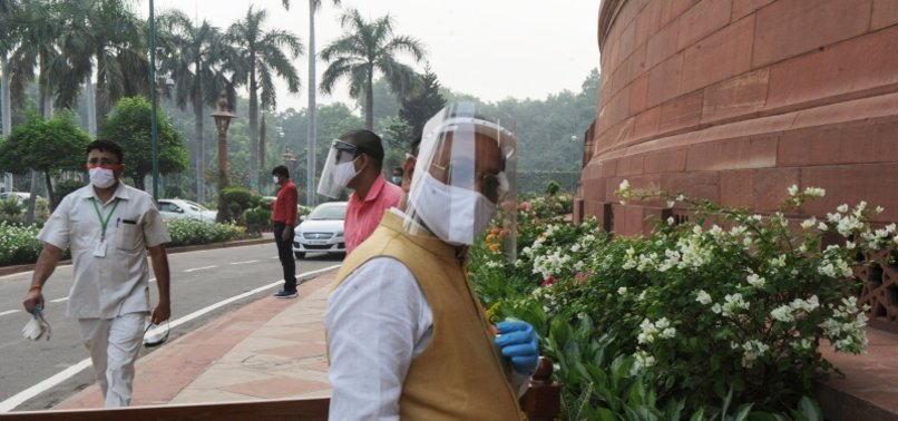25 INDIAN MPS TEST VIRUS POSITIVE AS PARLIAMENT MEETS