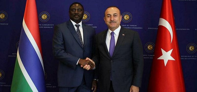 TURKEY, GAMBIA SHOULD INCREASE TRADE VOLUME TO $40M: FM