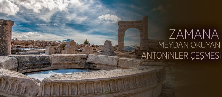 Zamana meydan okuyan Antoninler Çeşmesi