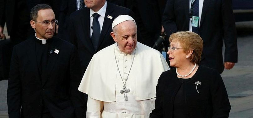 POPE EXPRESSES PAIN AND SHAME OVER CHILE SEX ABUSE SCANDAL