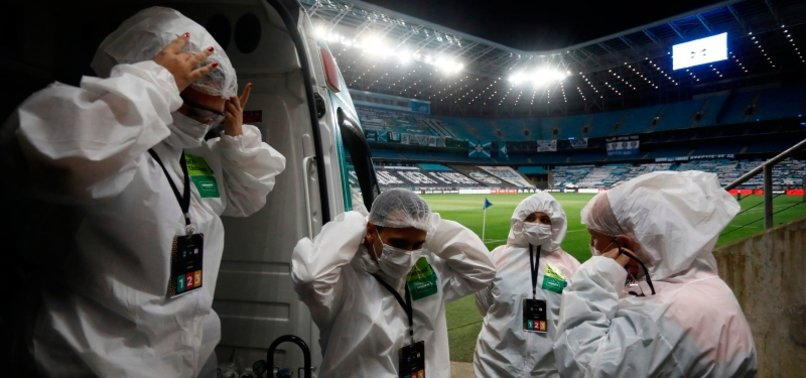 BRAZIL REPORTS 432 NEW CORONAVIRUS DEATHS ON SATURDAY