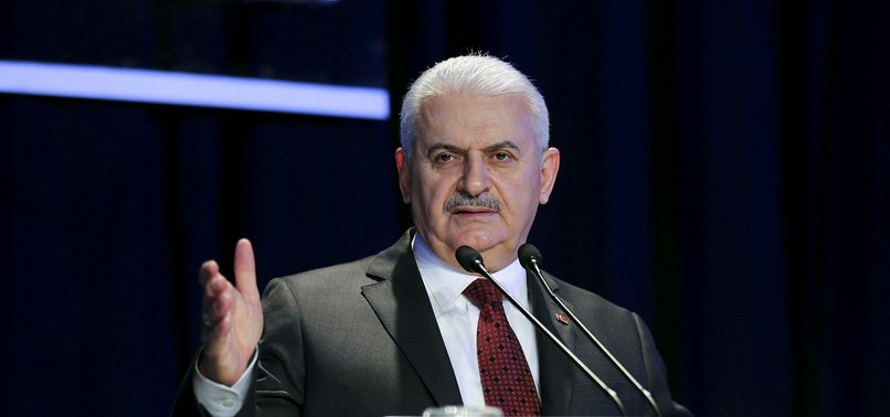 HOLDING BUSINESS WITH TERRORISTS VERY HUMILIATING FOR US: PM YILDIRIM