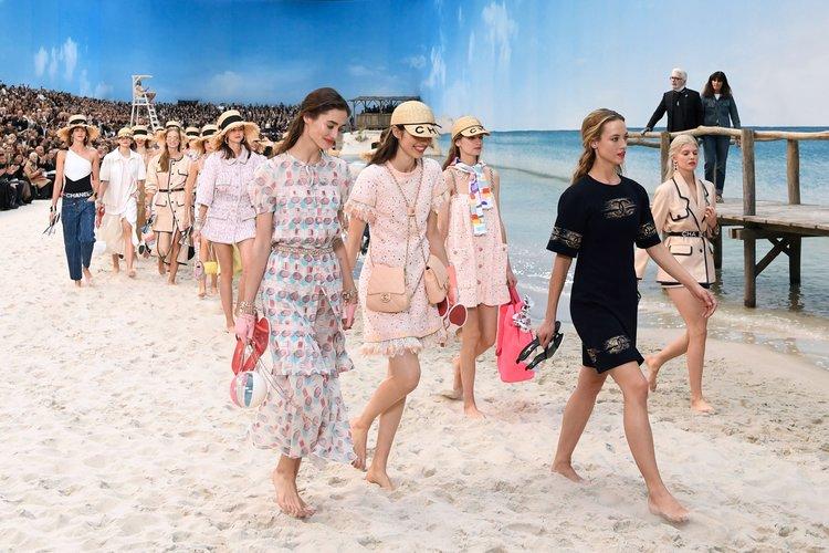 Chanel 2019 İlkbahar/Yaz defilesi