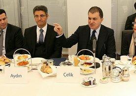 AB Bakanı Çelik: ''Fasıllar açılmasın demek konuşmayalım demektir. Bu da bir özgüvensizlik işaretidir.