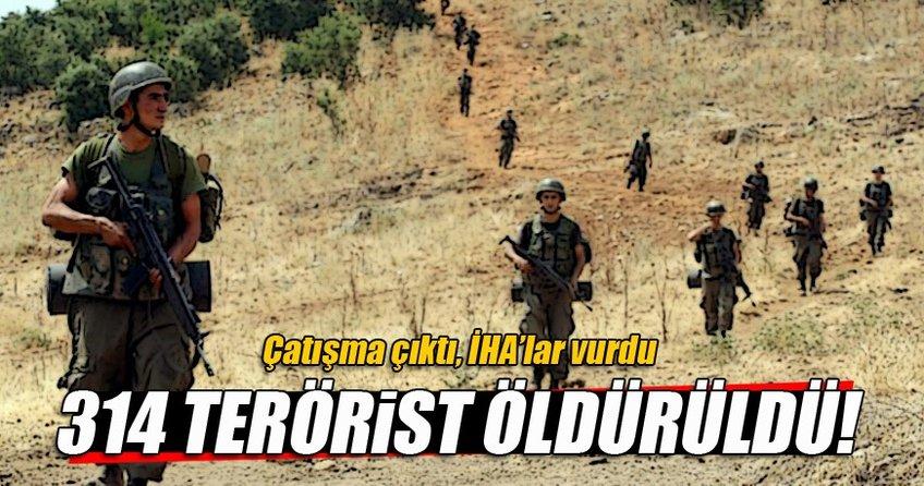 TSK açıkladı: Çatışma çıktı, İHA'lar vurdu!