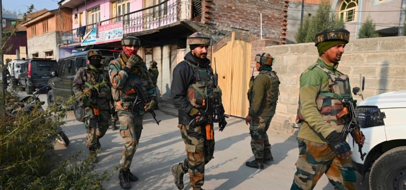 INDIAN ANTI-TERROR AGENCY RAIDS MULTIPLE SPOTS IN KASHMIR