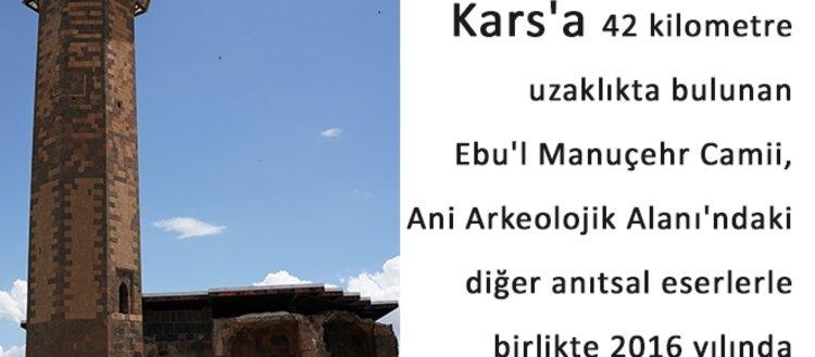 Anadolu'daki ilk Türk camisi Ebu'l Manuçehr