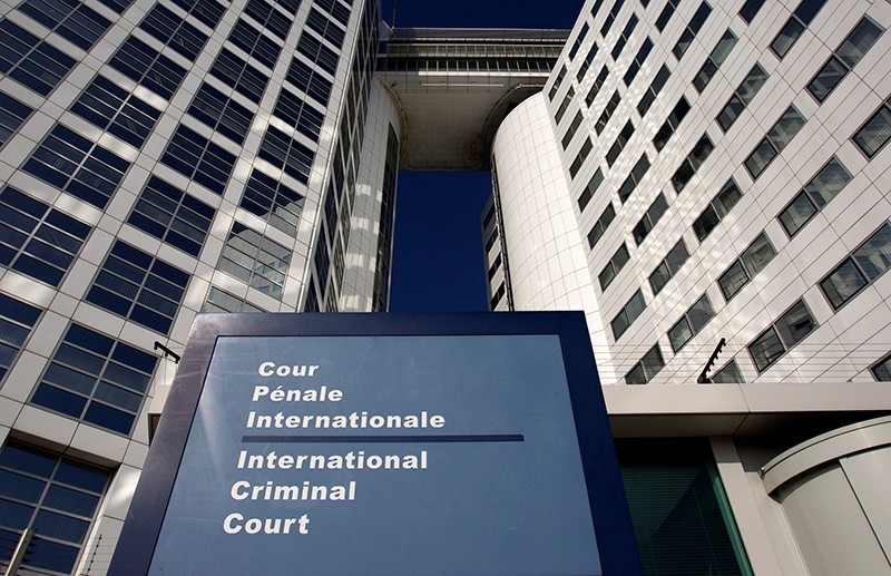 The entrance of the International Criminal Court (ICC) is seen in The Hague, Netherlands, March 3, 2011. (Reuters Photo)