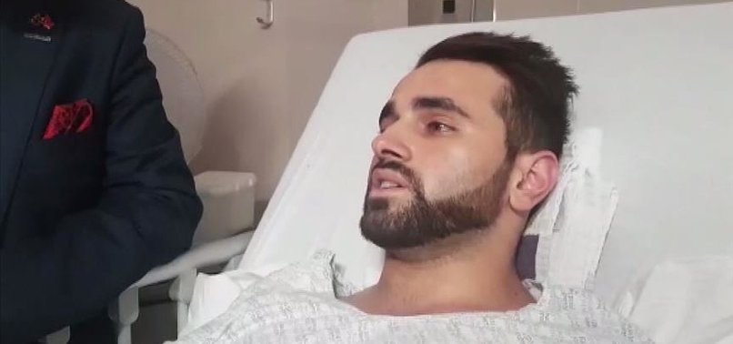 TURKISH MAN ESCAPES NZ TERROR ATTACK BY SECONDS