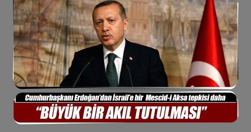 Cumhurbaşkanı Erdoğan: Netanyahu'nun açıklamaları kabul edilemez