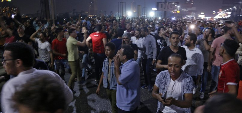 MORE THAN 1,100 DETAINED IN EGYPT AFTER PROTESTS - RIGHTS MONITORS