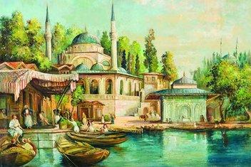Birbirine selam duran iki Mihrimah Sultan Camii