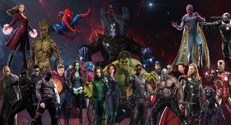 Marvel dünyasına hoş geldiniz!