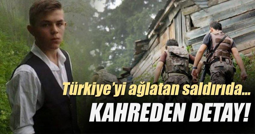 Trabzon'daki saldırıda kahreden detay!