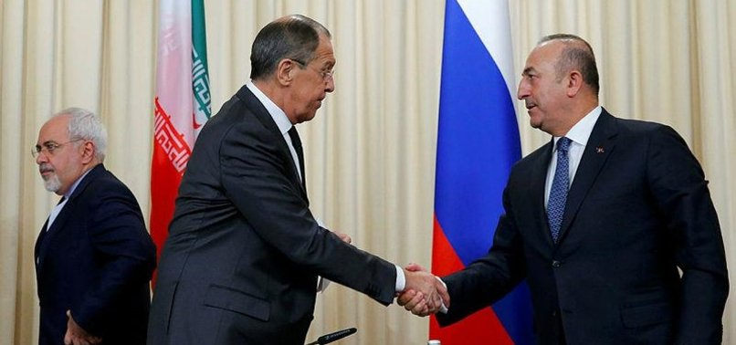IRAN, RUSSIA, TURKEY TO HOLD SYRIA MEETING IN KAZAKHSTAN