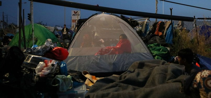 GERMANY COULD TAKE THOUSANDS FROM GREEK REFUGEE CAMP
