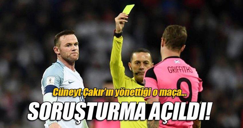 Cüneyt Çakır'ın yönettiği maça soruşturma açıldı!