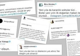 İstanbul'daki terör saldırısına ünlü isimlerden tepki yağdı