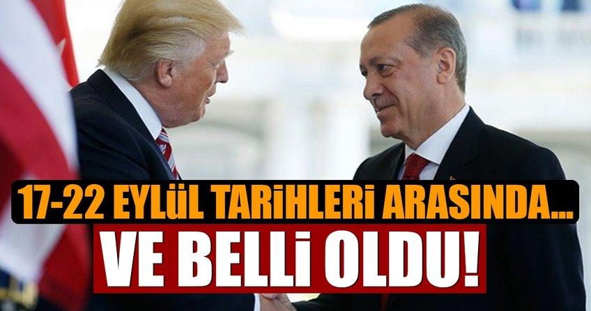 Cumhurbaşkanı Erdoğan'ın 17-22 eylül ABD programı belli oldu