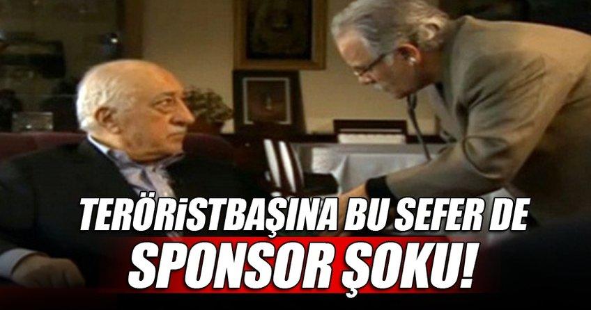 Teröristbaşı Gülen'e bu sefer sponsor şoku geldi!