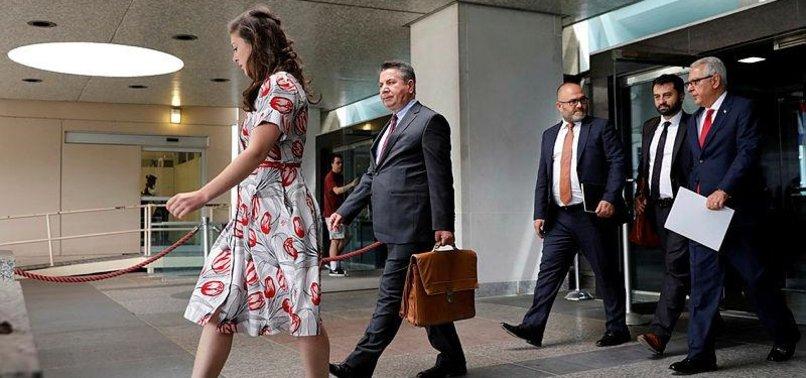 TURKISH DELEGATION DUE IN US FOR TALKS